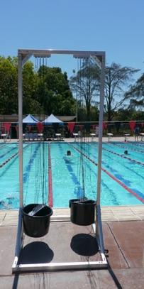 Velocity swim towers
